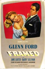Framed 1947 DVD - Glenn Ford / Janis Carter